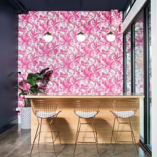 House of Hackney salon wallpaper