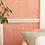 Custhom Oblique Coral Wallpaper