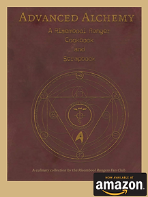 RisemBool Rangers Advanced Alchemy cook book Fanclub Vic Mignogna