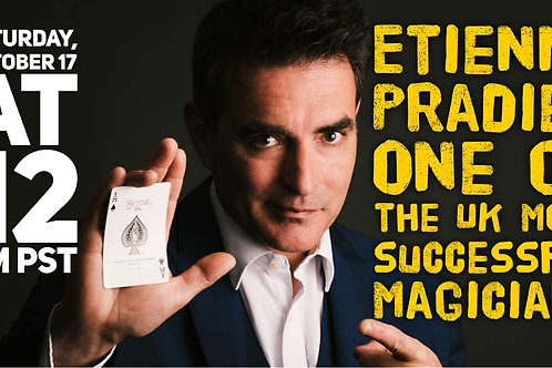 Etienne Pradier Lecture Magicians Forum
