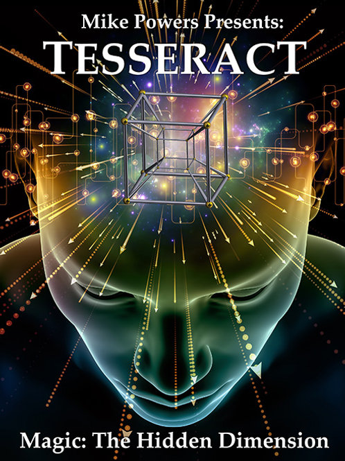 MIKE POWER - TESSERACT Magic Book
