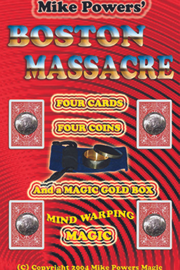 BOSTON MASSACRE Coin Boston Box BOOK