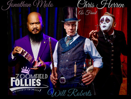 Zoomfield Follies the Virtual Extravaganza Vaudeville show adds a NEW partner!