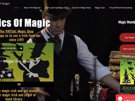 Virtual Magic Shop Opens at @BasicsOfMagic .com