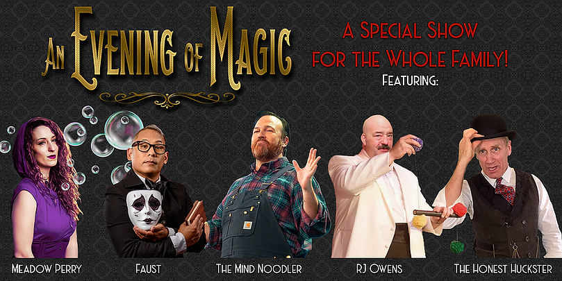 Group of amazing magicians