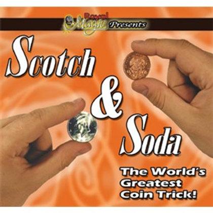 Scotch & Soda coin magic
