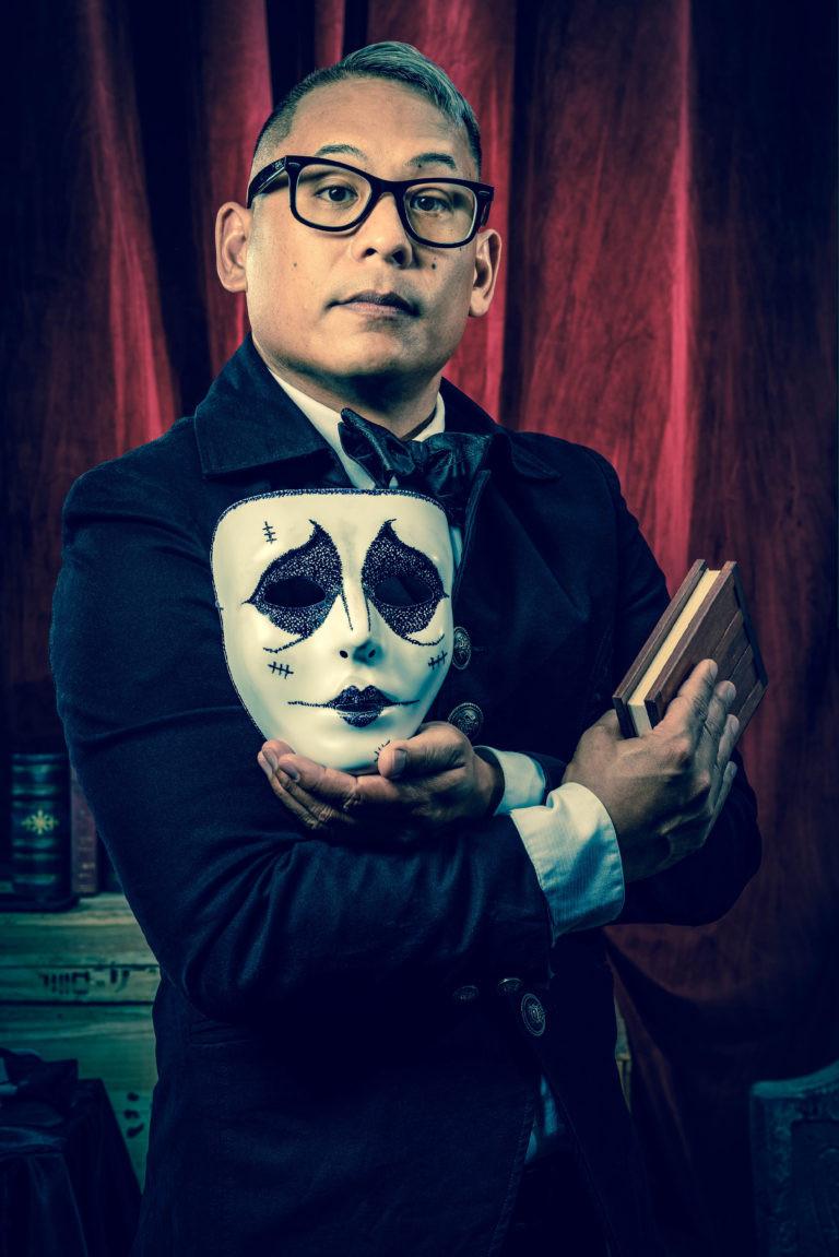 Magician Chris Herren as Faust