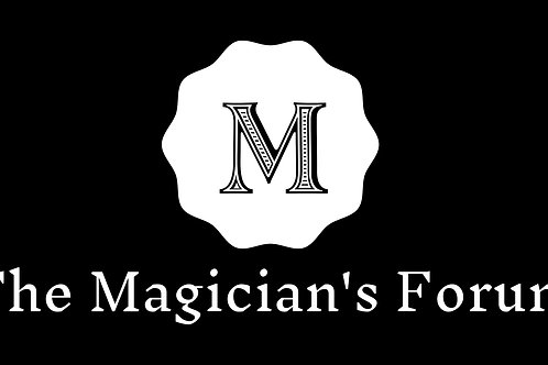 the Magician's Forum will be hosting a lecture from Daniel McCarthy.