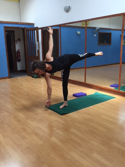 CD doing Yoga7