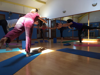 The goal of yoga is adaptability not flexibility