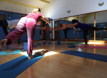 The goal of yoga is adaptability not flexibility