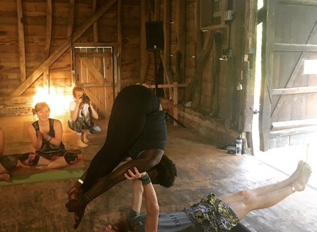 Teaching at Yoga Festivals