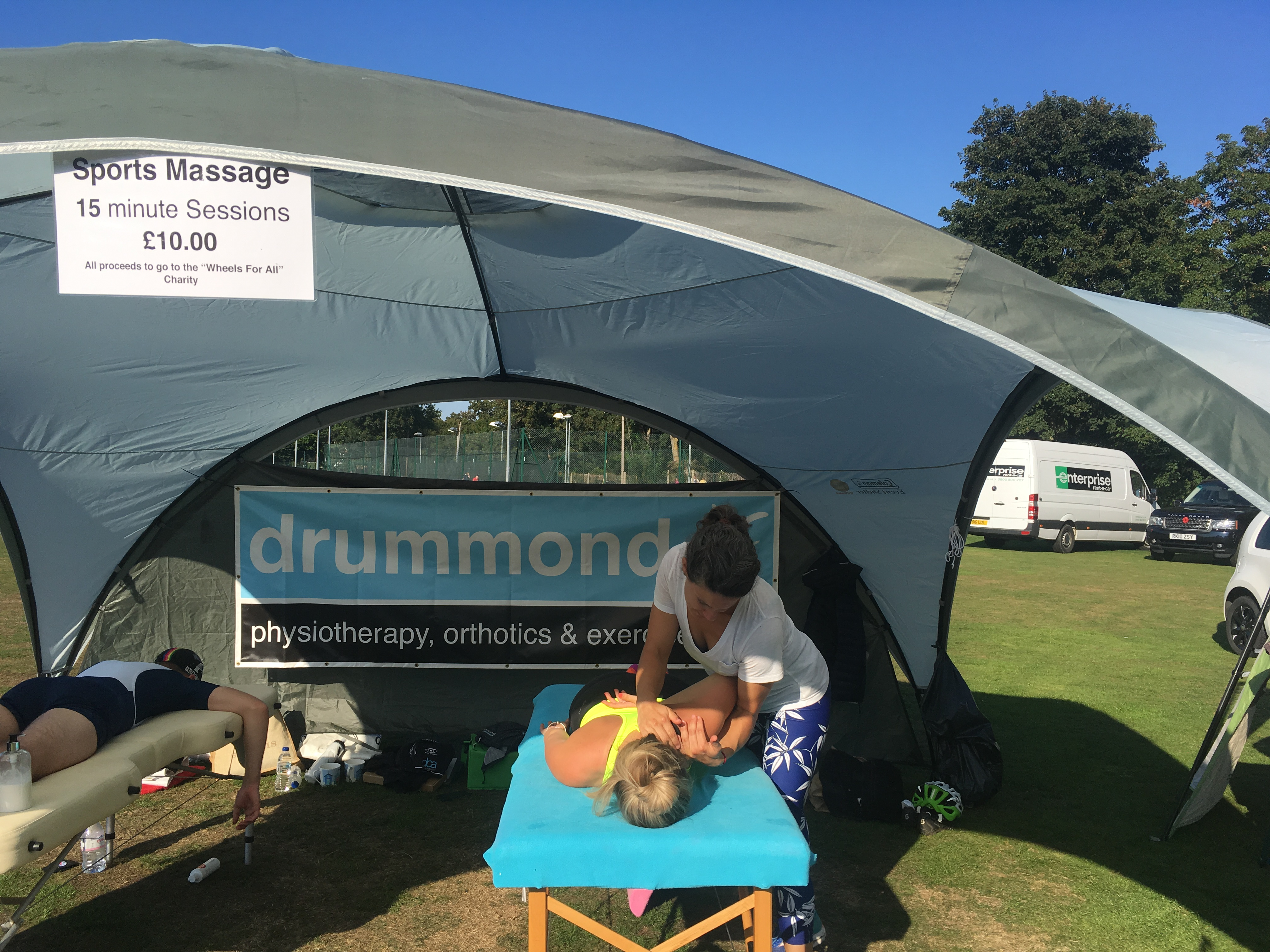 charity massage 2018