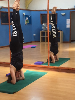 CD doing Yoga8