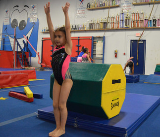 How to move up in the Tumbling Program?