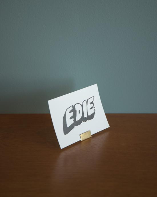 「EDIE」OPEN