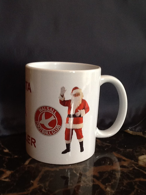 Santa Is A Saddler Mug