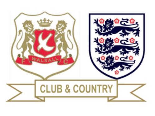 Club & Country Pin Badge