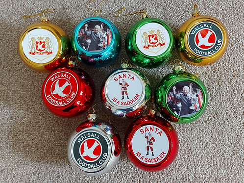 Special Edition Christmas Baubles Set