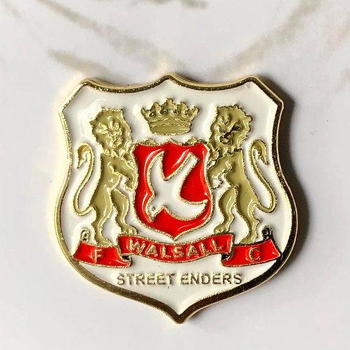 Walsall FC Retro 'Street Enders' Pin Badge
