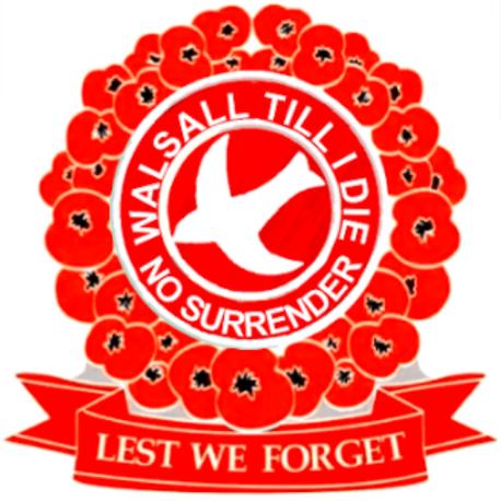 'Lest We Forget' Poppy Badge