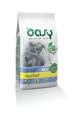 Oasy gatto adult hairball