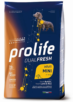 Prolife Dual Fresh Adult Mini - Agnello Bufalo e riso