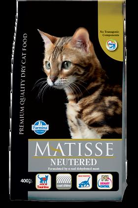 Matisse Neutered gatto gusto pollo