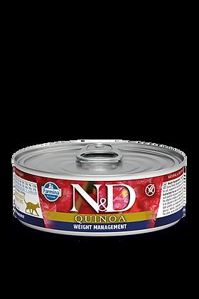 Farmina N&D Quinoa - Weight Management Gatto 80gr