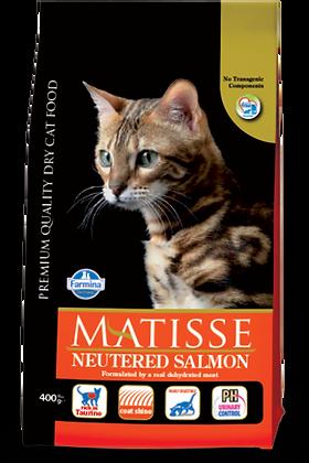 Matisse Neutered Salmone secco gatti