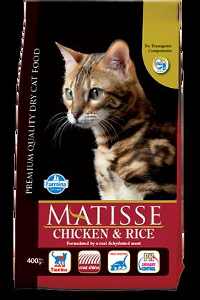 Matisse Pollo e riso per gatti adulti