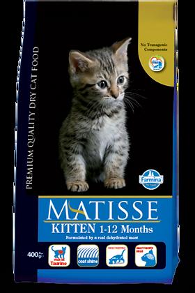 Matisse Kitten 1-12 Mesi cibo secco