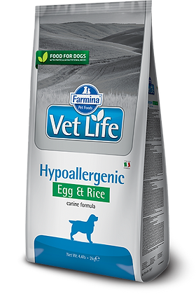 Farmina Vet Life - Hypoallergenic Uova e Riso