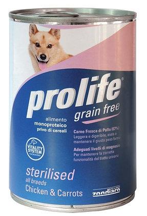 Prolife Grain Free Sterilised umido 400g