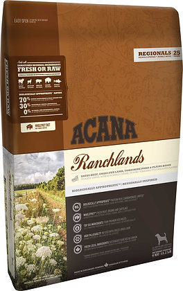 Acana dog regional ranchland