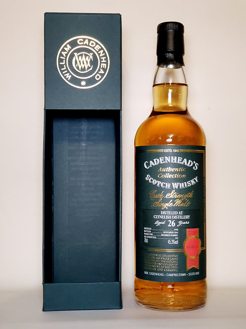 Clynelish 1990 26yo Cadenhead Authentic Collection