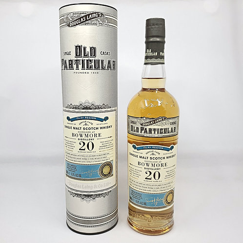 Bowmore 1996 20yo by Old Particular