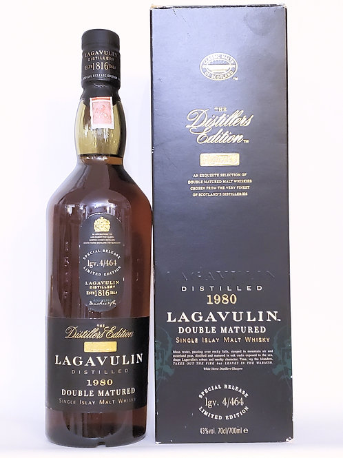 Lagavulin Distillery Edition 1980 (with box)