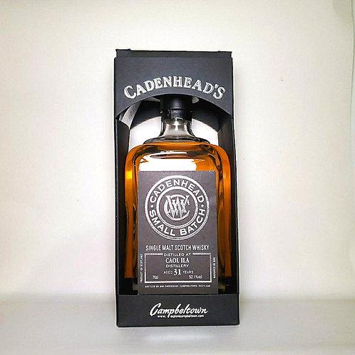 Caol Ila 1984 31yo Cadenhead