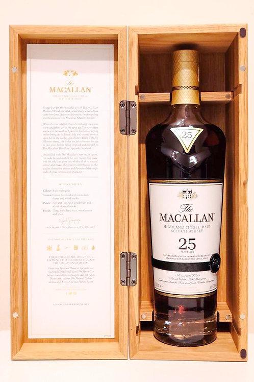 Macallan 25yo Sherry Oak 2019
