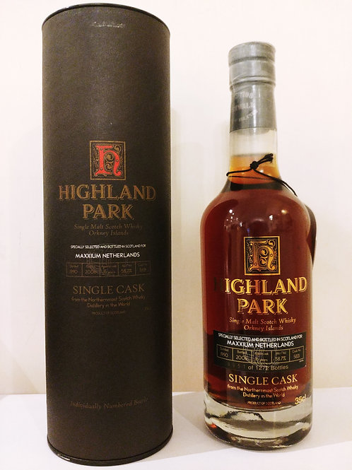 Highland Park Single Cask OB for Maxxium Netherlands