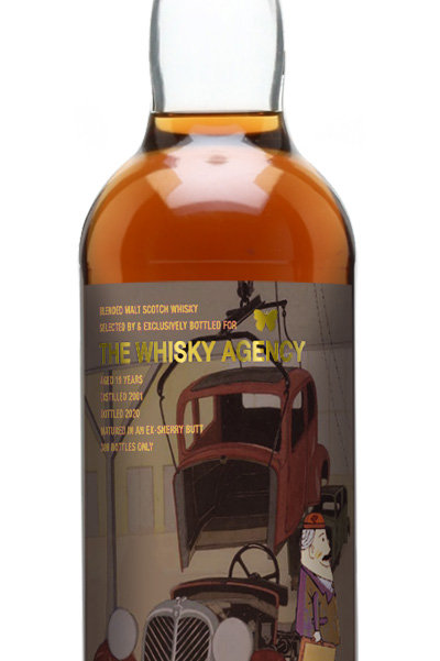 Sherry Butt Blended Malt 2001 by The Whisky Agency 2020