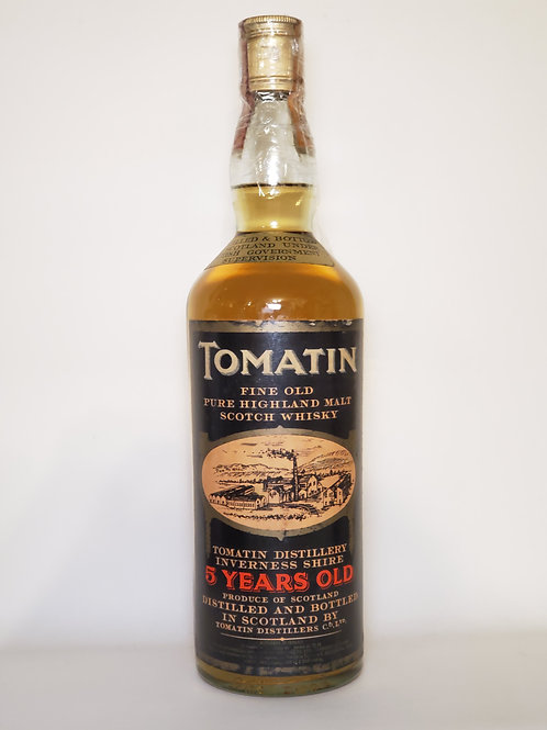Tomatin 5 years old (old bottling, Italian Import)