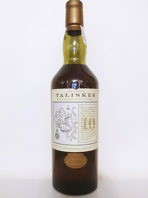 Talisker 10 year-old Old Map Label