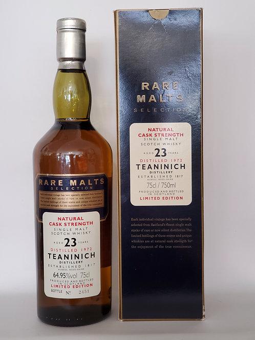 Teaninich 1972 23yo Rare Malts Selection