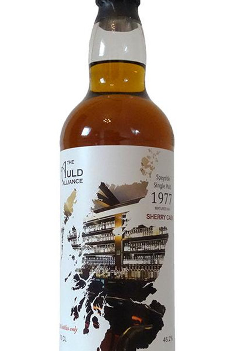 Speyside 1977 Sherry Cask by The Auld Alliance