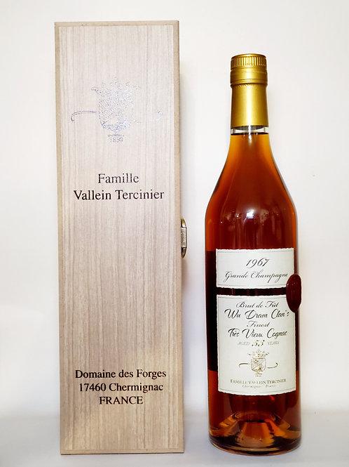 VALLEIN TERCINIER 53Y - 1967/2020 - Cognac - Single Cask (Wu Dram Clan) 156 Flas