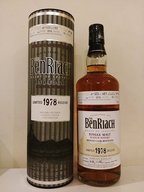 Benriach 1978 30yo OB #7772