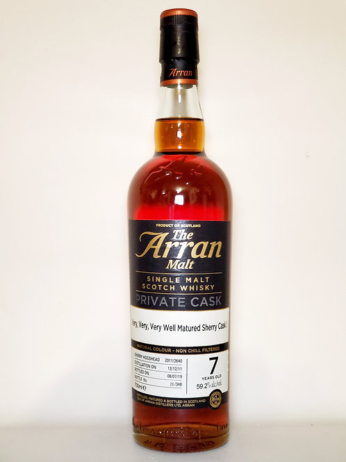 Arran Very Very Very Well Matured Sherry Cask