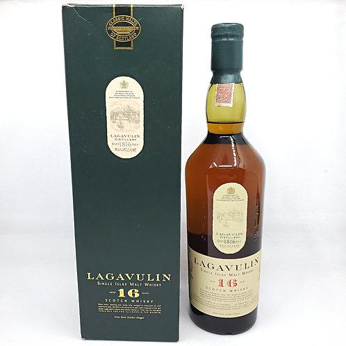 Lagavulin 16yo White Horse Distillers (凸字 with box)